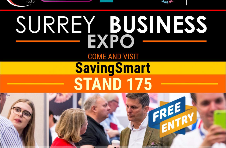 Surrey Business Expo 2018 – we're exhibiting!